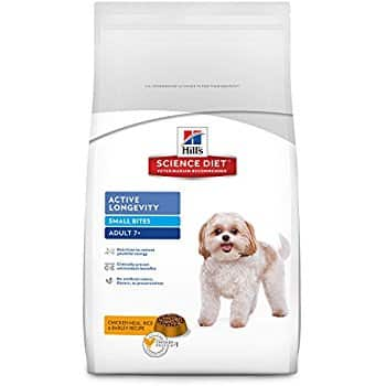Amazon - Hill's Science Diet Adult 7+ Active Longevity Chicken Meal, Rice & Barley Dry Dog Food 33lb bag $26.24