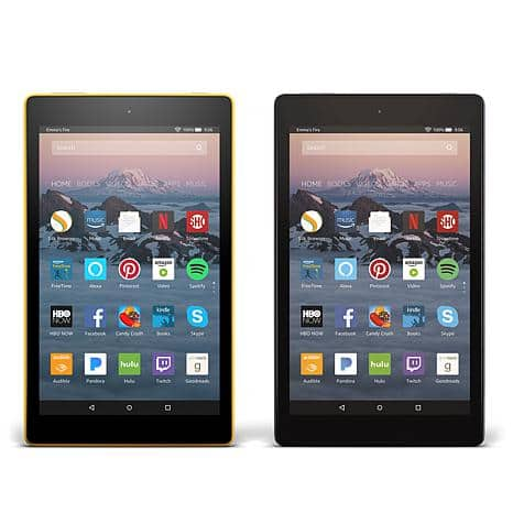 """HSN - 2-pack 2017 Fire HD 8"""" IPS Quad-Core 16GB Alexa-Enabled Tablets with Caseable Vouchers and Apps & Services $120 + FS"""