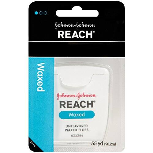 Amazon 3rd party seller:  Reach Waxed Dental Floss Unflavored, 55 Yard (Pack of 12) $4.63 & free shipping