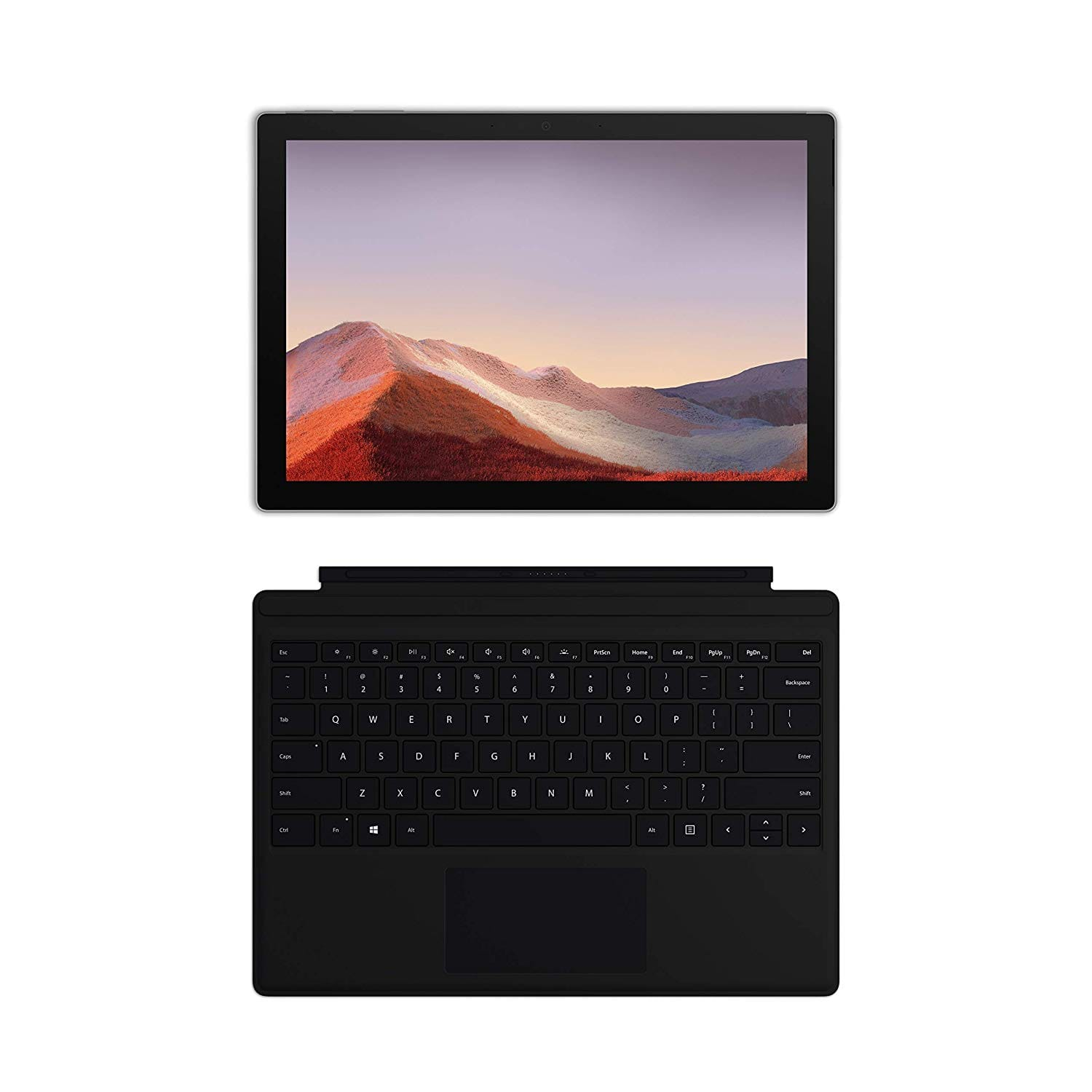 "NEW Microsoft Surface Pro 7 – 12.3"" Touch-Screen - 10th Gen Intel Core i5 - 8GB Memory - 128GB SSD (Latest Model) – Platinum with Black Type Cover - 769$"