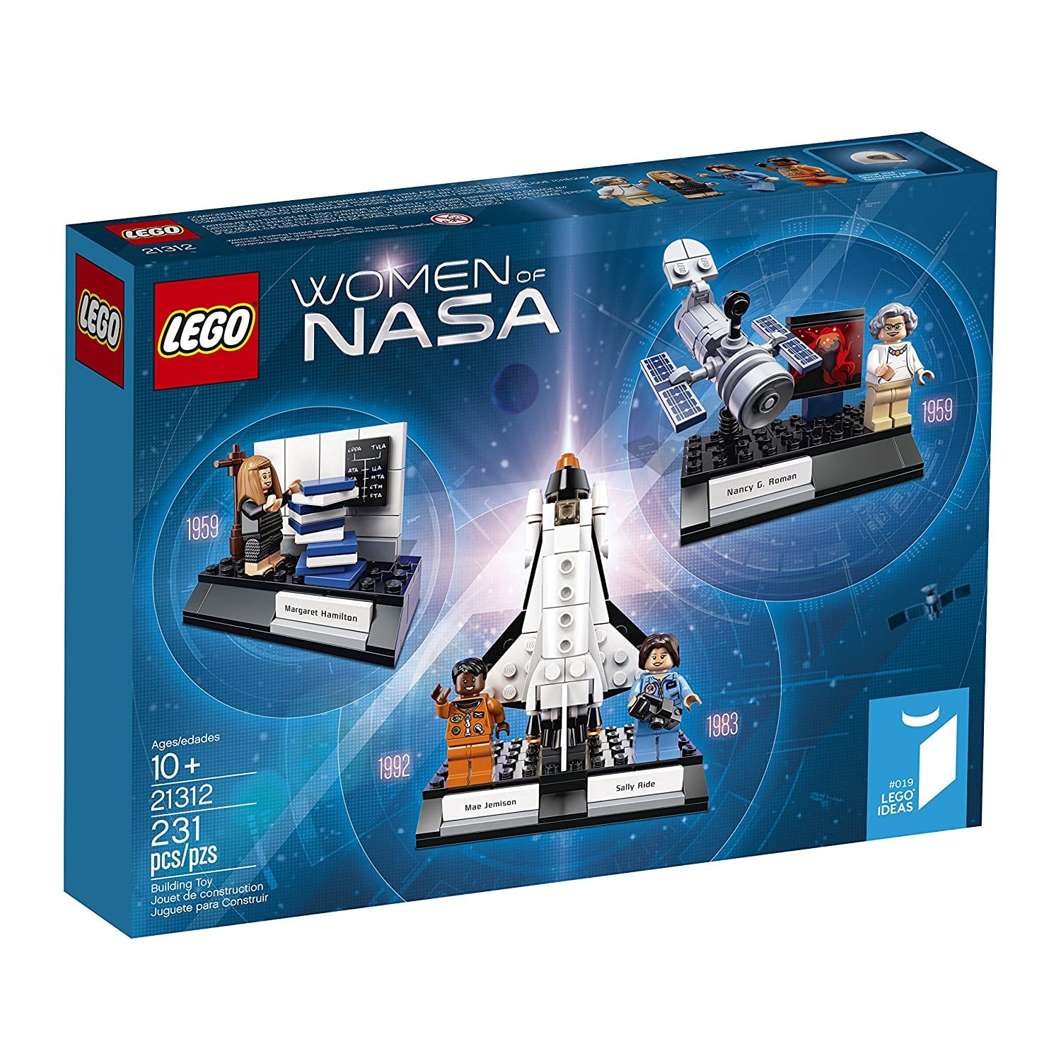 "$25 - New LEGO Ideas set ""Women of NASA"" now available!"