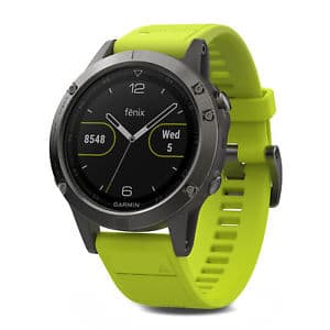 Garmin fenix 5 47mm Multisport GPS Fitness Watch Slate Gray with Amp Yellow Band $351.99 - MOD ALERT - BACK IN STOCK - NOT EXPIRED