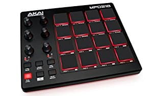 Akai Professional MPD218 | MIDI Drum Pad Controller with Software Download Package