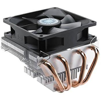Cooler Master Vortex Plus - CPU Cooler with Aluminum Fins and 4 Direct Contact Heat Pipes $19.99