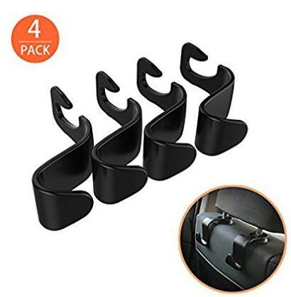 Ofspower 4 Pack Car Vehicle Back Seat Headrest Organizer Hanger Storage Hook $5.99