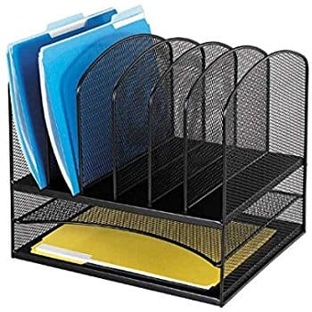 Safco Products 3255BL Onyx Mesh Desktop Organizer $20.83