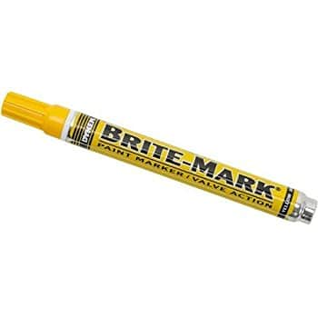 Add-on: BRITE-MARK Medium Tip Paint Marker, Yellow $3.13