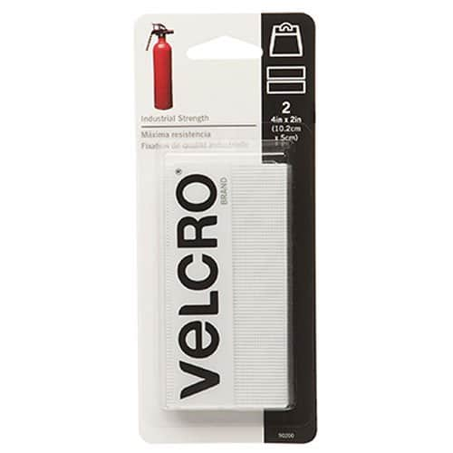 "ADD ON: VELCRO Brand - Industrial Strength - 2"" x 4"" Strips, 2 Sets - White $1.53"