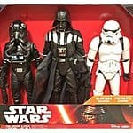 "Star Wars 3-Pack of 18""-20"" Figures for $44.99 Costco Online and B&M"