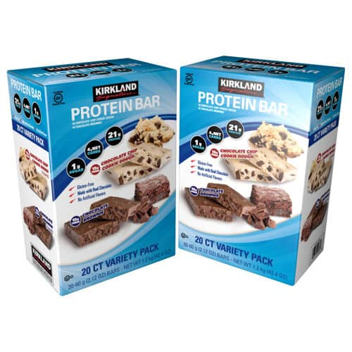 Costco Kirkland Signature Protein Bars 1799 For 20 Pack In Stores