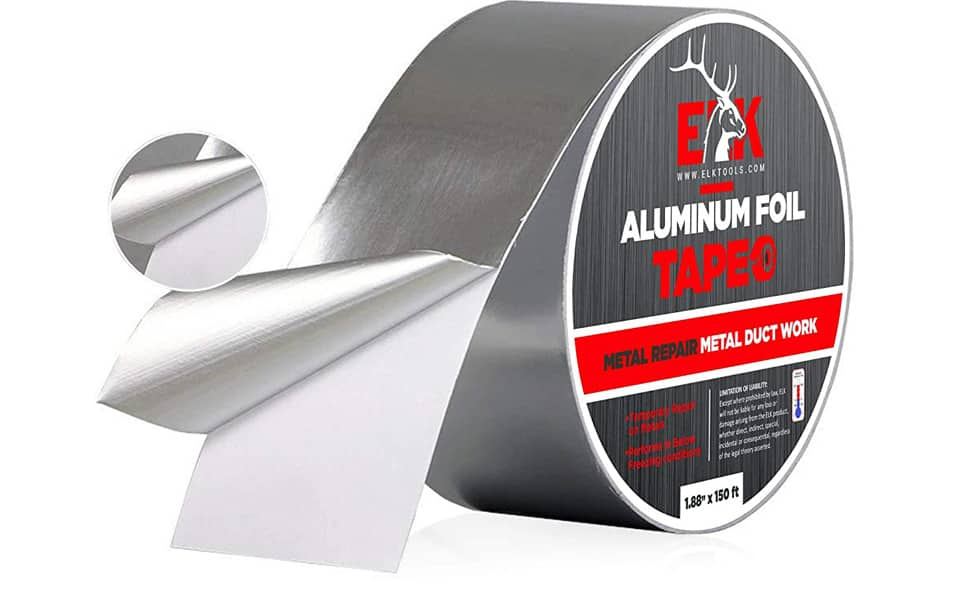 Aluminum Foil Tape, Amazon Prime $4.99+tax