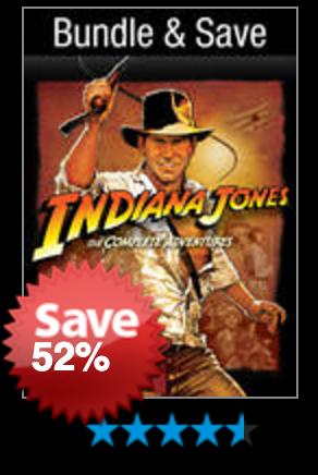 Indiana Jones: The Complete Adventures VUDU Digital Movie