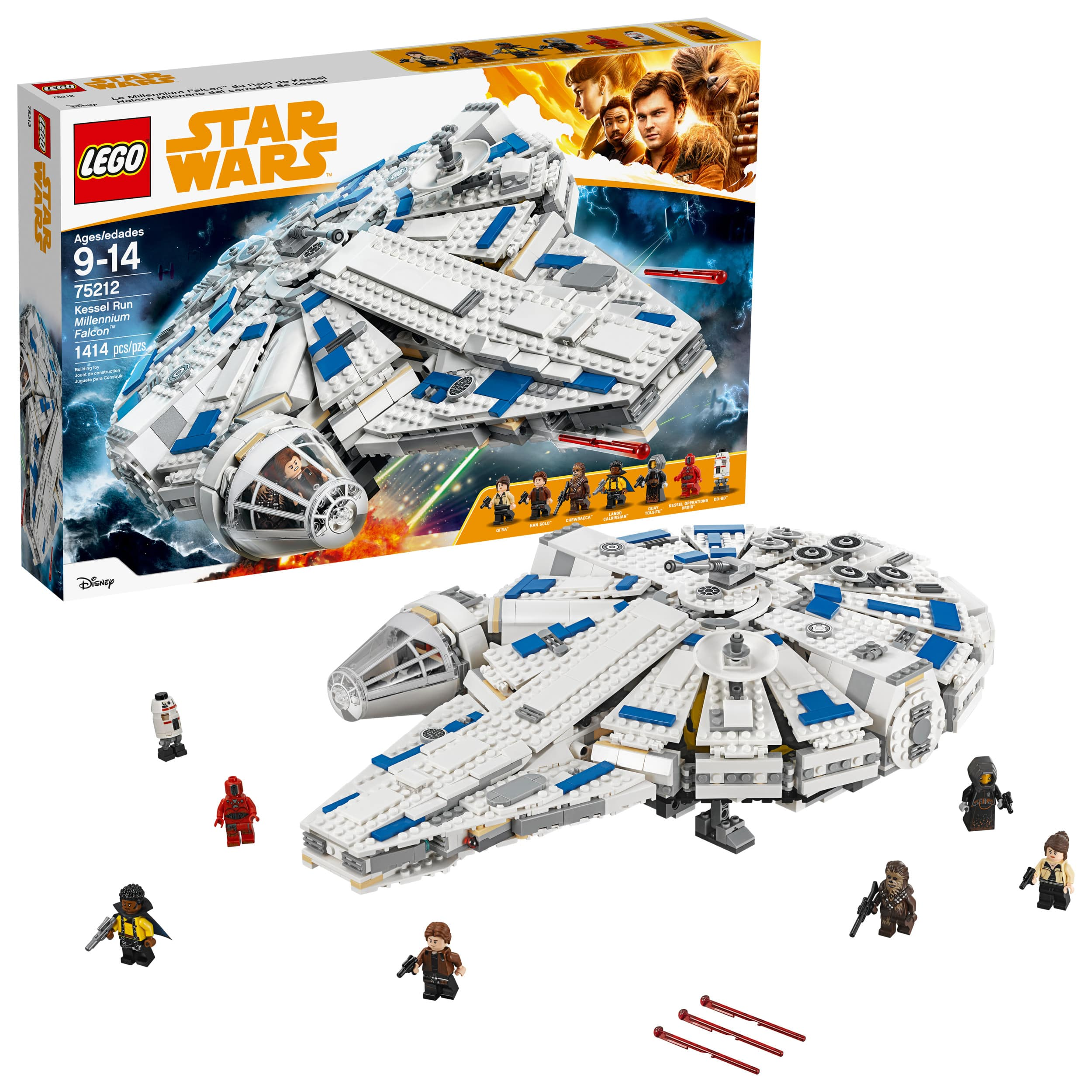 Lego Star Wars Kessel Run Millennium Falcon @Walmart B&M Normally $169.99 now $79.99 - 53% off YMMV