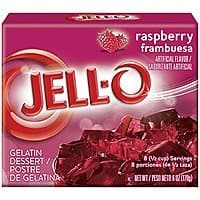 Amazon Deal: Jell-O Gelatin Dessert, Raspberry, 3-Ounce Boxes (Pack of 6) $2.25 AC as low as $1.80 with S&S 15%