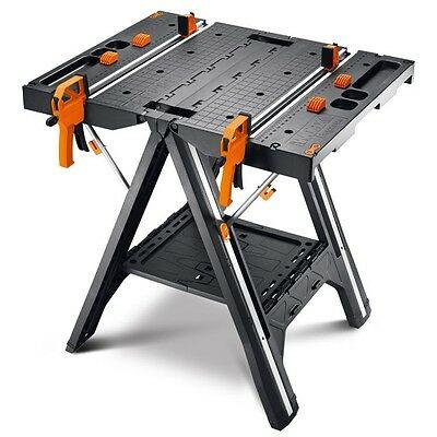 WORX WX051 Pegasus Folding Work Table & Sawhorse (Refurbished) $74.99
