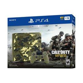 PS4 Console 1TB COD WWII Limited w/Camo $229  Navyexchange.com