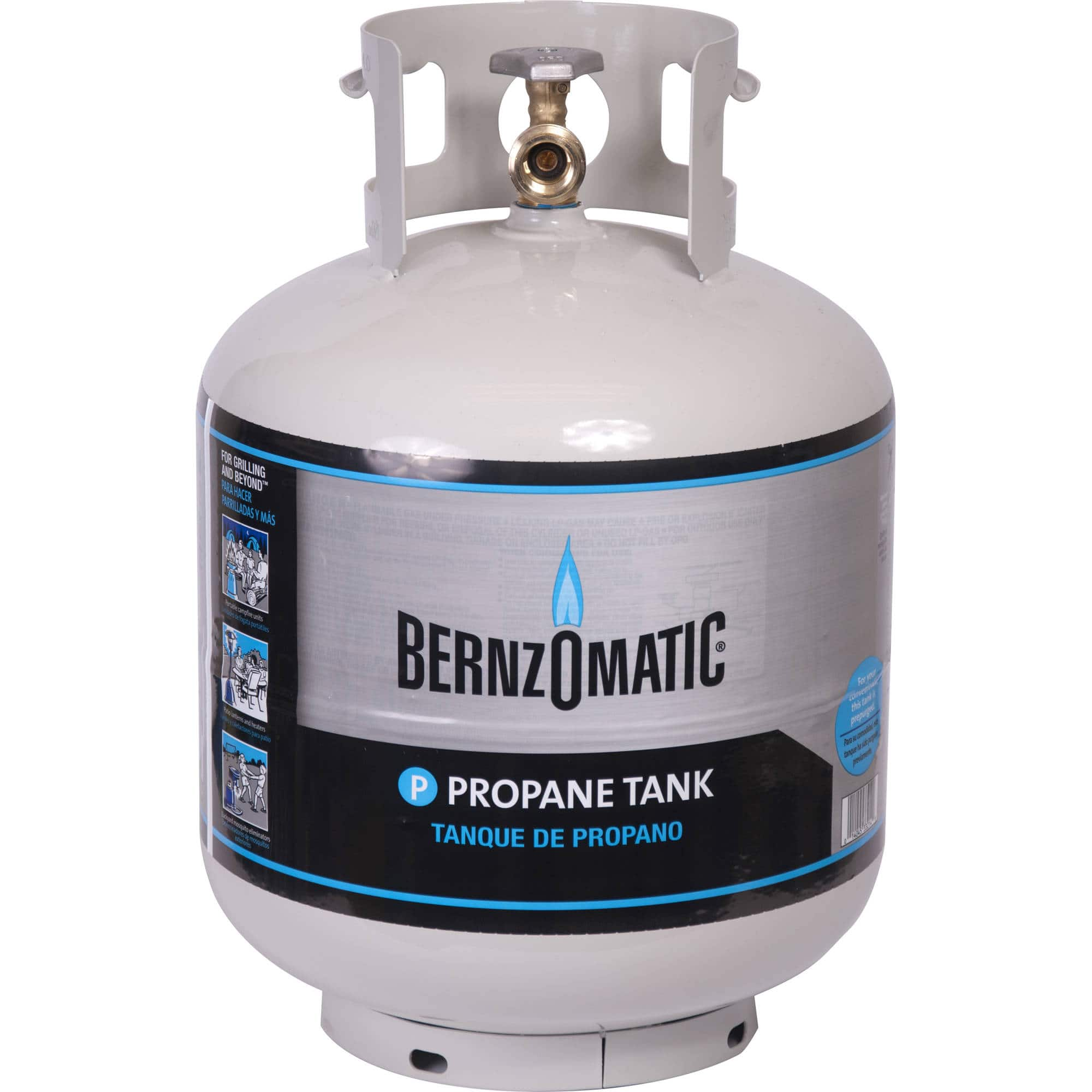 20lb propane tank $21 at Wal-Mart for BBQ grills, patio heaters, RVs, etc - YMMV