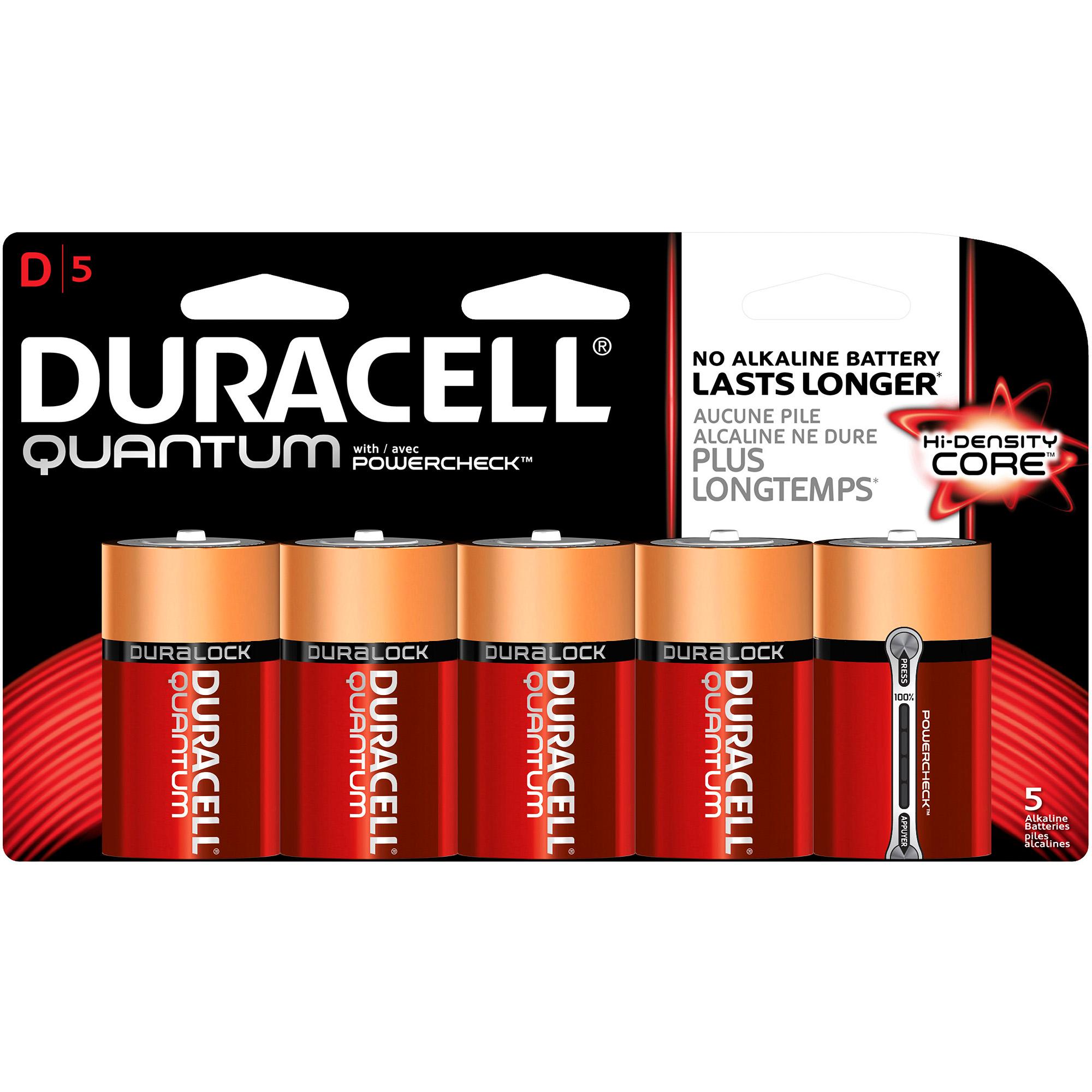 Duracell Quantum Batteries C or D 5 pack $1.49 + tax   YMMV  Walgreens