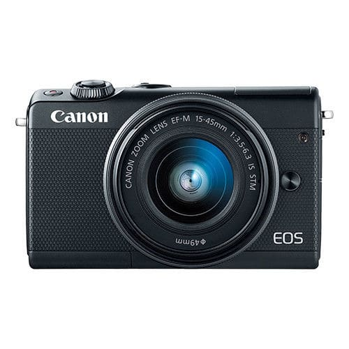 Canon EOS M100 Mirrorless Digital Camera with 15-45mm EF-M IS STM Lens, Black (imported) - $350