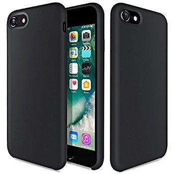 Liquid Silicone Gel Rubber Shockproof Case for iPhone 7 Plus/8 Plus $3.99 AC @Amazon + FS w/ Prime