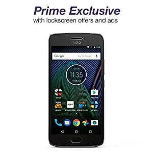 MOTO G5 PLUS 64GB AMAZON PRIME EXCLUSIVE DEVICE AT $179.99 ($120.00 of MSRP)