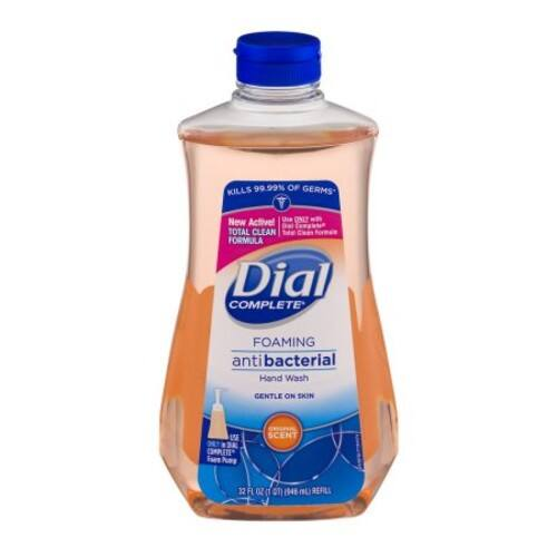 Dial Complete Antibacterial Foaming Hand Soap Refill, Original Scent, 32 Fluid Ounces - As low as $2.76 with S&S - Amazon
