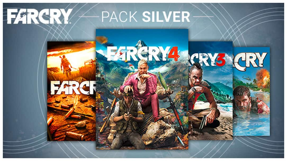 Far Cry Silver Pack - (Far Cry 1, 2, 3, 4) PC Digital Download - $24.50 - Ubisoft