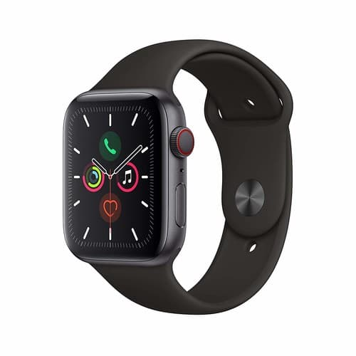 Apple Watch Series 5 (GPS + Cellular, 44mm) - Space Gray Aluminum Case with Black Sport Band (Used Very Good) Amazon Warehouse $341.43