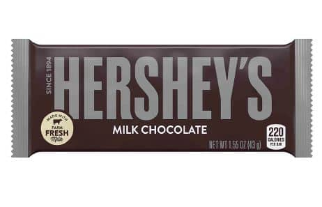 Hershey's Milk Chocolate Bar - $.50