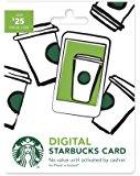 $5 Amazon credit with Purchase of $50 Starbucks eGift