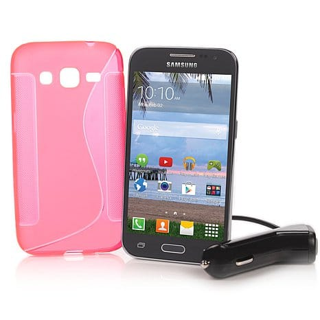 Samsung Galaxy Core Prime TracFone with extras - $89.95 + tax