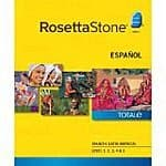54% off Rosetta Stone Level 1-5 Set Downloads on Amazon