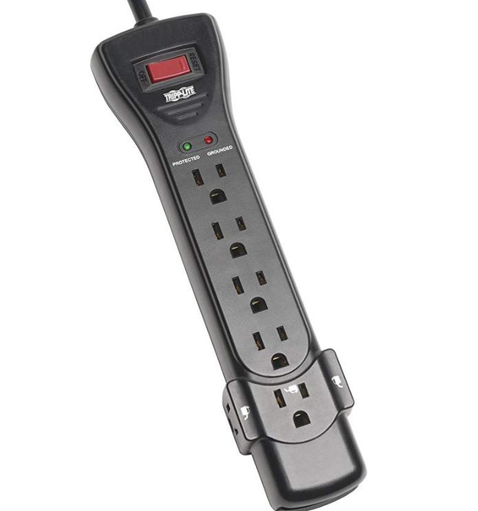 Tripp Lite 7 Outlet Surge Protector Power Strip 2160 Joules $11.80 $12.85