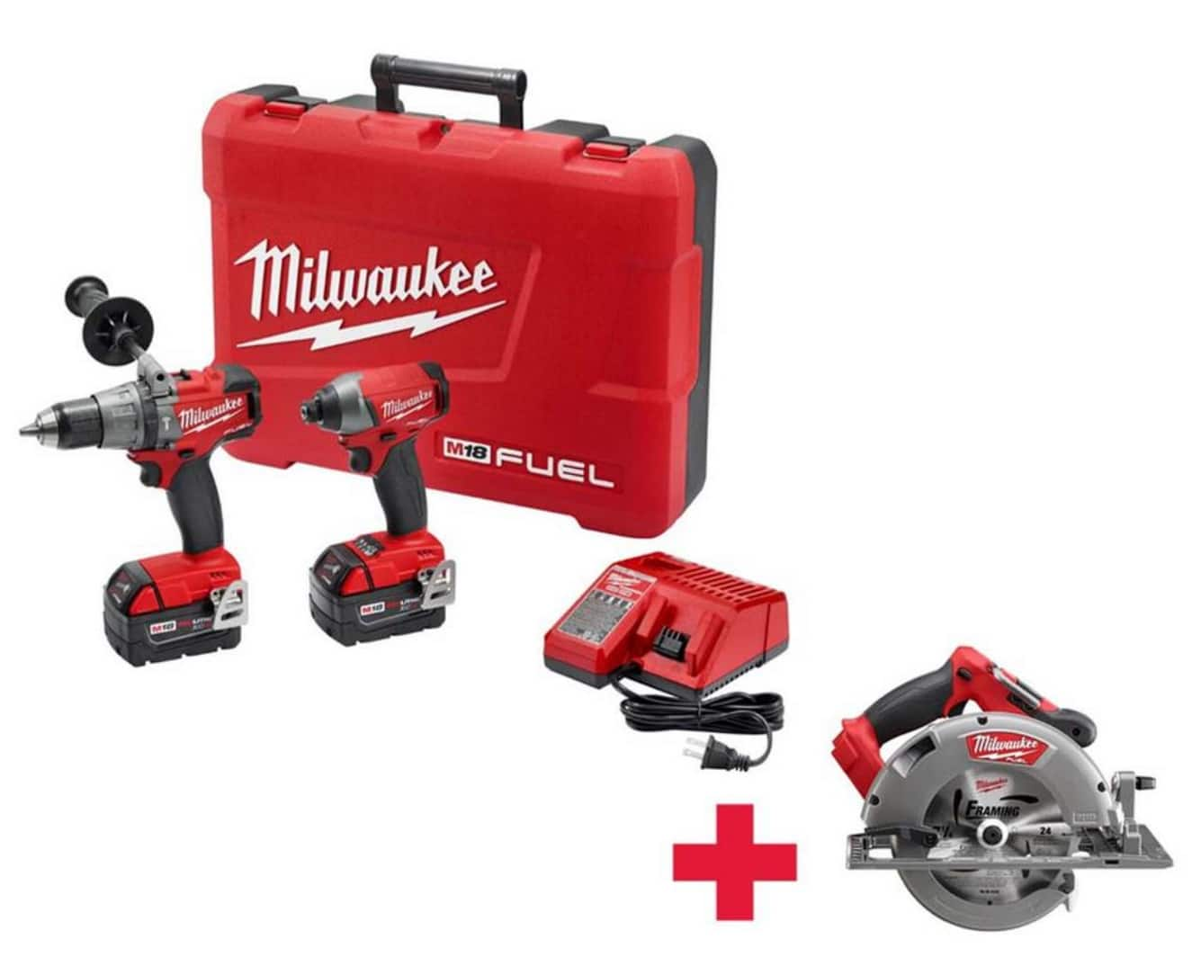 Milwaukee Brushless Combo Kit Special Buys @ Home Depot starting at $269.99 w/ free tools