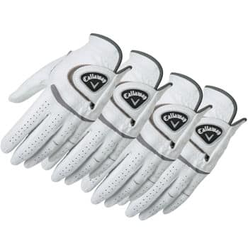 Callaway Men's Cabretta Leather Golf Glove 4-pack for $24.99 with FS for Costco members / On-Line only