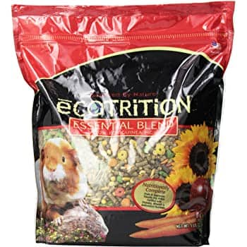 5 lbs Ecotrition Essential Blend Food For Guinea Pigs, Resealable Bag $3.57 + Free Prime Shipping