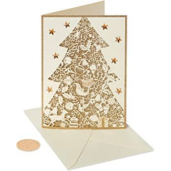 Papyrus Christmas Cards Boxed, Hello Kitty Holiday (12-Count) $5.10+ Free ship w/ prime
