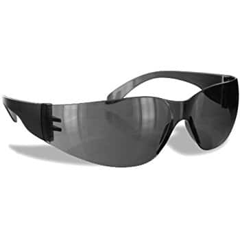$1.58 Rugged Blue SC-260 Polycarbonate Diablo Safety Glasses, Gray ADD-ON item @ Amazon