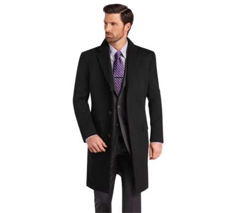 a9fdd852042 Reserve Collection Tailored Fit 100% Cashmere Topcoat CLEARANCE from Jos a  Bank
