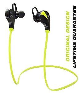 TOTU Bluetooth Headphones, Sweatproof Sport Wireless Noise-Cancelling Headphones - $9.99 AC + FSSS