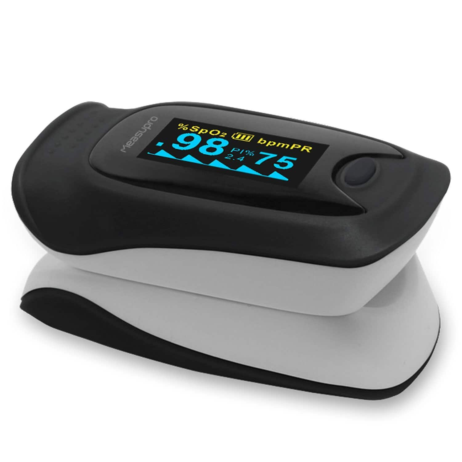 MeasuPro OX200 Instant Read Digital Pulse Oximeter w/ Case and Lanyard (FDA Approved) - $15.60 AC + FSSS