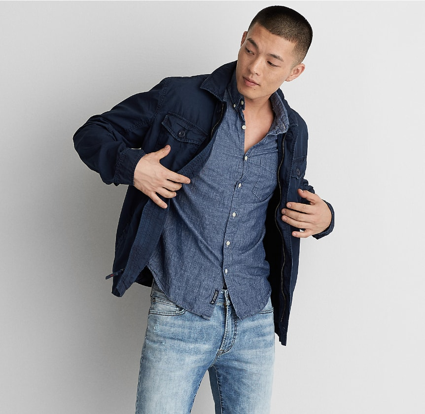 American Eagle: $10 Off $50, $20 Off $100, or $30 Off $125 + Free Shipping on AEO Collection