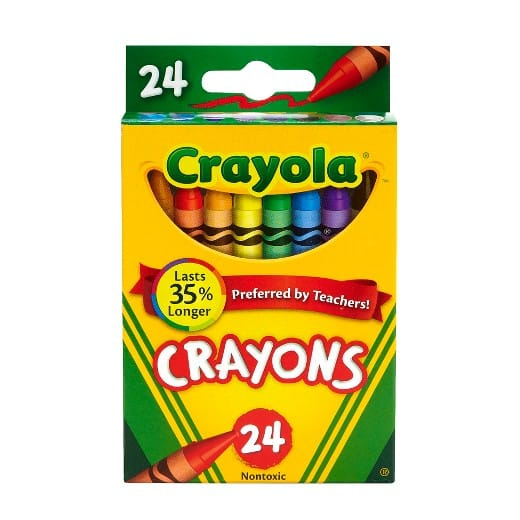 Target: Crayola Crayons 24ct - $0.50 + Free In Store Pick-Up