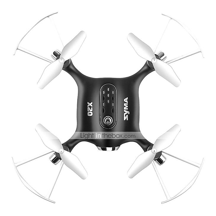 Syma X20 Mini Pocket Drone RC Quadcopter (White or Black) - $15.99 + Free Shipping