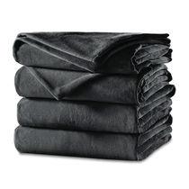Sunbeam King Velvet Plush Heated Blanket (Garnet or Slate) - $47.24 + Free Shipping
