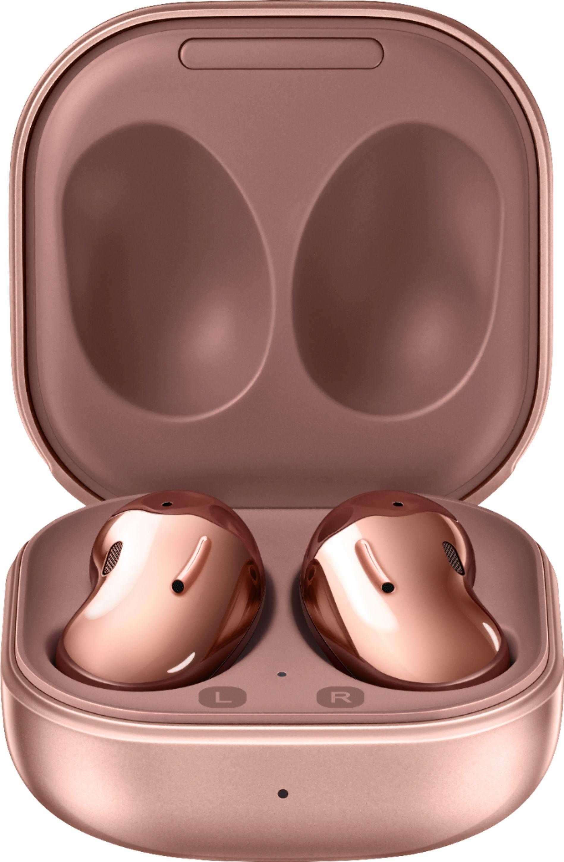 Samsung Geek Squad Certified Refurbished Galaxy Buds Live True Wireless Earbud Headphones Bronze GSRF SM-R180NZNAXAR - Best Buy $84.99