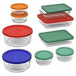 Pyrex 18 piece Storage Set $27.99  @ebay
