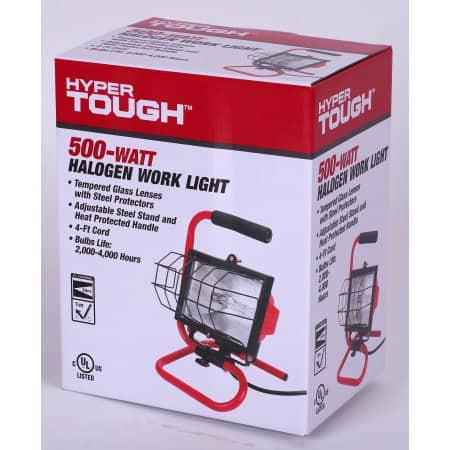 HT 500-Watt Halogen Work Light @ Walmart w/ free store pickup for $5.44
