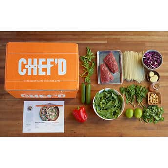 Chef'd $200 credit for $99.99 (4x $50)