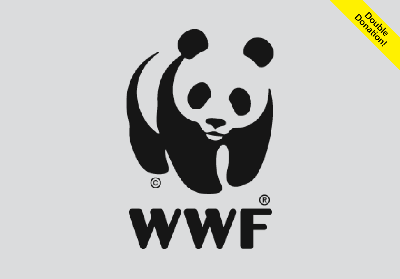 FREE donation to WWF (World Wildlife Fund) bing rewards!! use 0 points to donate 1 dollar!!